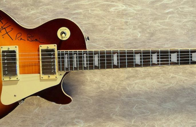 Tom Petty Epiphone Gibson Les Paul Sunburst Guitar