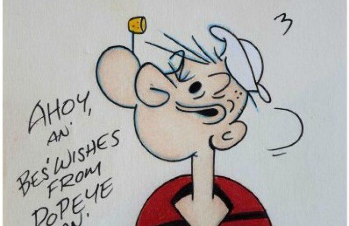 Bud Sagendorf – Popeye The Sailor