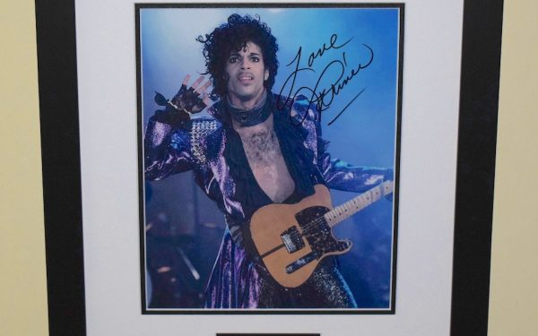 #4-Prince Signed 8×10 Photograph