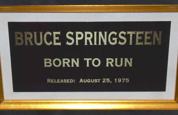 #2-Bruce Springsteen – Born To Run