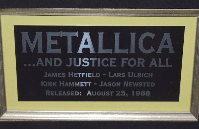 Metallica – ….And Justice For All