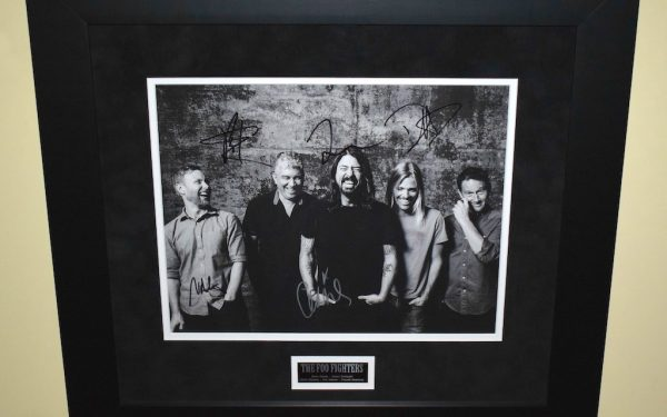 #3-Foo Fighters Signed 11×14 Photograph