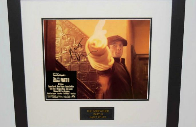 The Godfather Part III Signed 11×14 Lobby Card