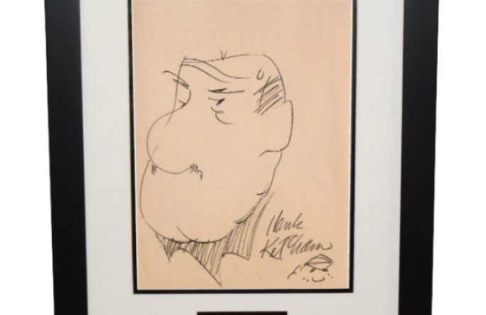 Hank Ketcham – Mr. Wilson
