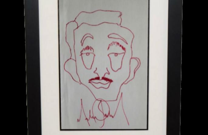 Michael Jackson – 5×9 Sketch