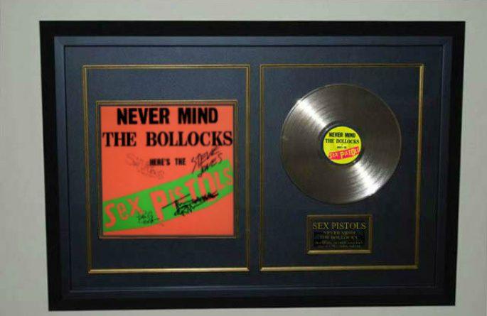 Sex Pistols – Never Mind The Bollocks