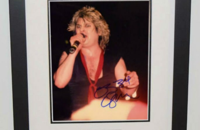 #7-Ozzy Osbourne Signed 8×10 Photograph