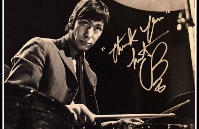 Charlie Watts Signed 11×16 Photograph