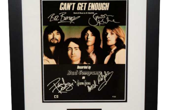 Bad Company – Can't Get Enough