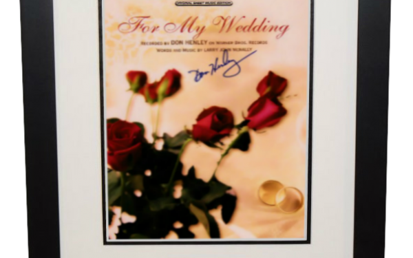 Don Henley – For My Wedding