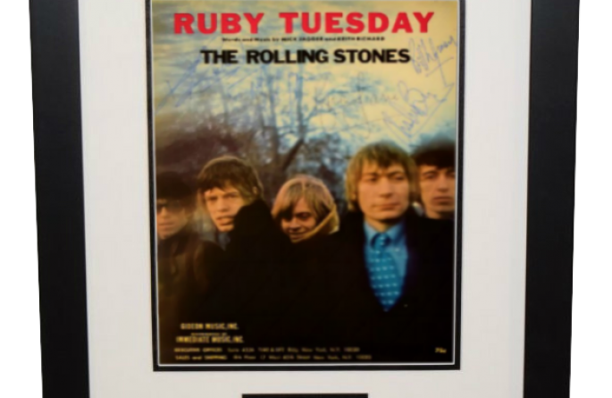 Rolling Stones Ruby Tuesday Brian Jones Mick Jagger