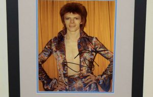 #10-David Bowie Signed 8×10 Photograph