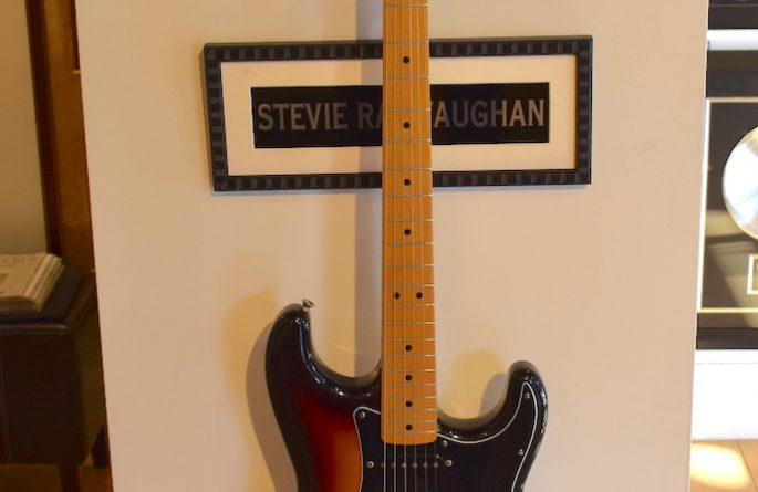 Stevie Ray Vaughan – Sunburst Fender Stratocaster