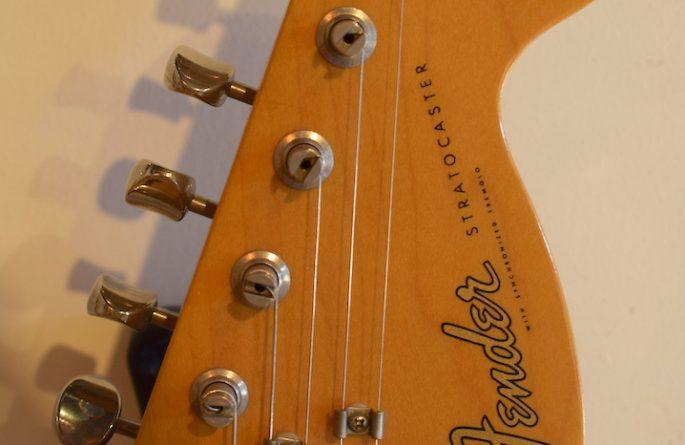 Stevie Ray Vaughan – Sunburst Fender Stratocaster