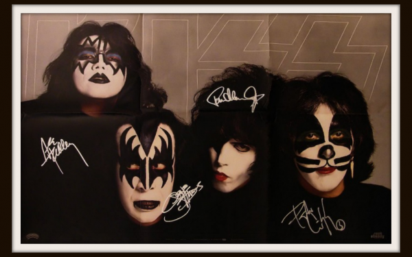 #3 Kiss Signed Poster