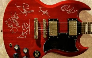 Aerosmith – Epiphone SG Guitar