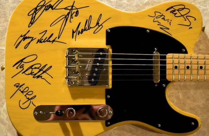 Bruce Springsteen – Blonde Fender Telecaster