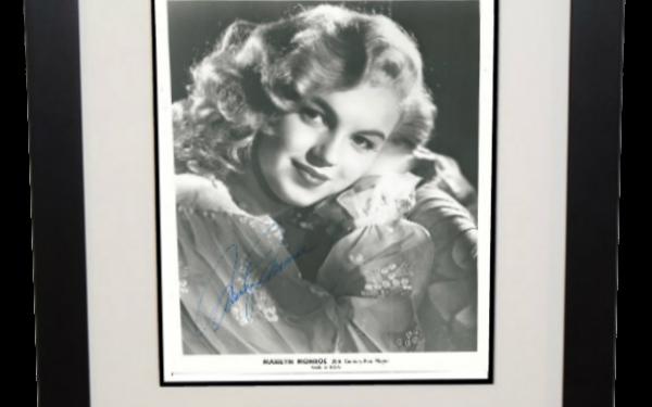 #4 Marilyn Monroe Signed 8×10 Photograph