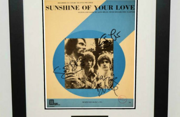 Cream – Sunshine Of Your Love