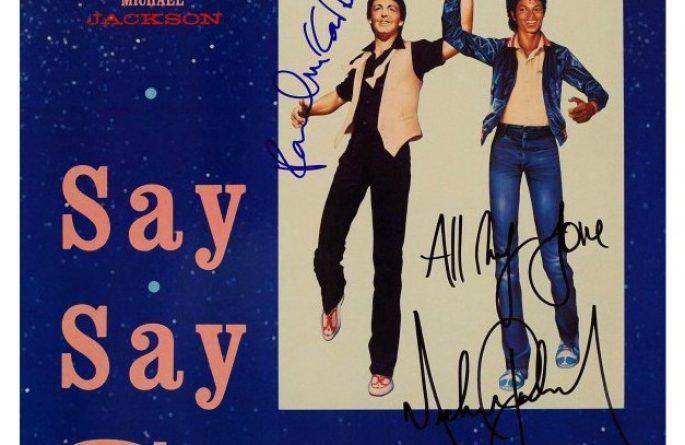 Paul McCartney – Michael Jackson – Say Say Say