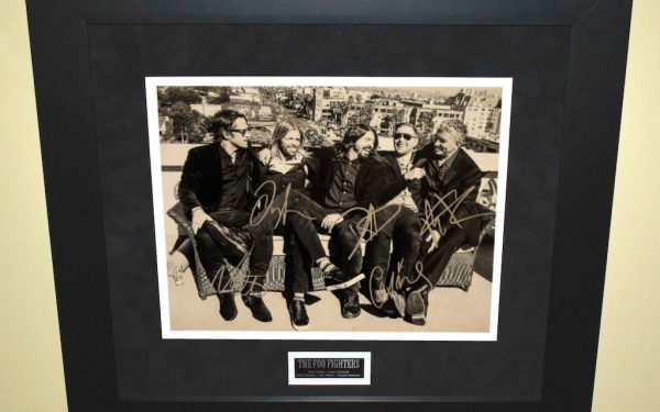 #4-Foo Fighters Signed 11×14 Photograph