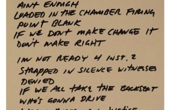 Pearl Jam – Eddie Vedder – I'm Not Ready
