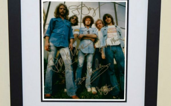 #5-Eagles 8×10 Signed Photograph