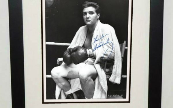 #17-Elvis Presley 8×10 Signed Photograph