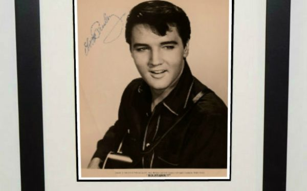 #12-Elvis Presley 8×10 Signed Photograph