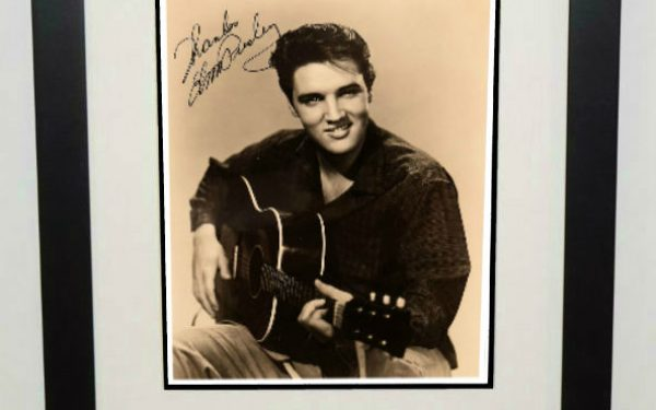 #11-Elvis Presley 8×10 Signed Photograph