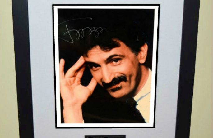 #4-Frank Zappa Signed 8×10 Photograph