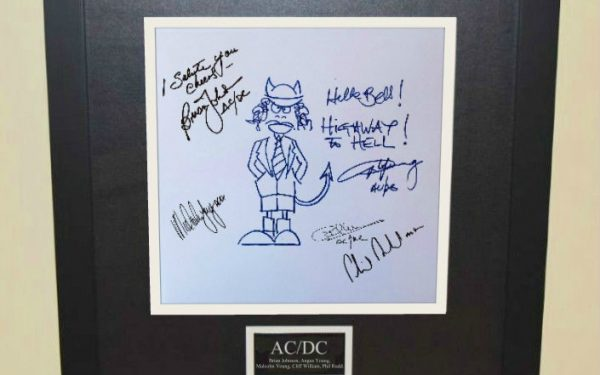 AC/DC – Angus Young Sketch