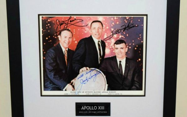Apollo XIII Signed 8×10 Photograph