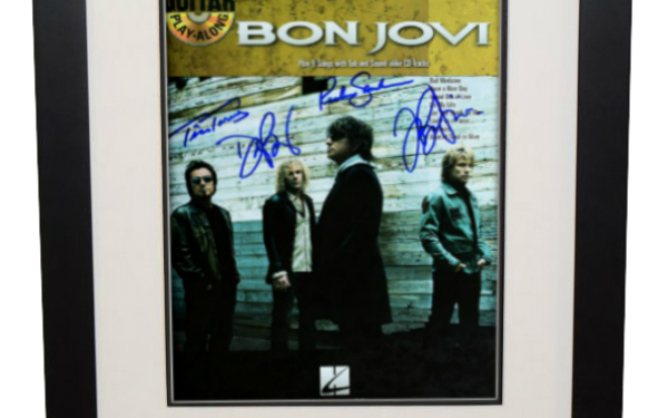 Bon Jovi – Music Book