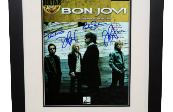Bon Jovi – Music Book