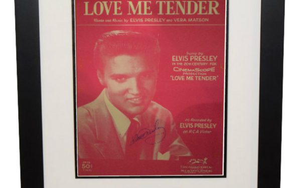 Elvis Presley – Love Me Tender