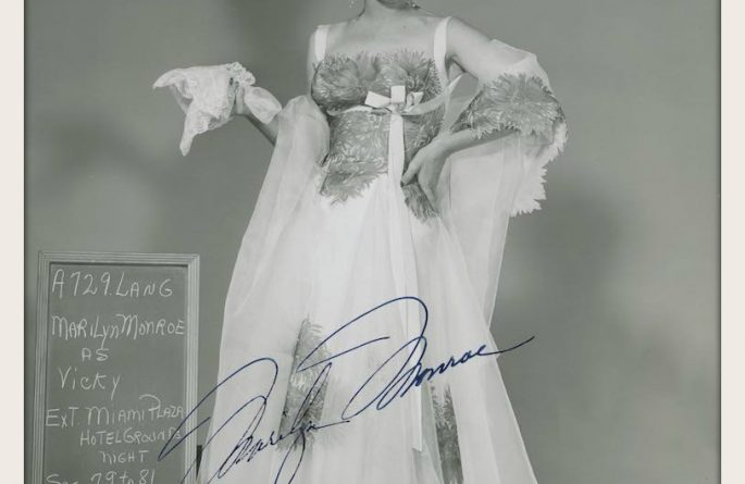 #2 Marilyn Monroe Signed 8×10 Photograph