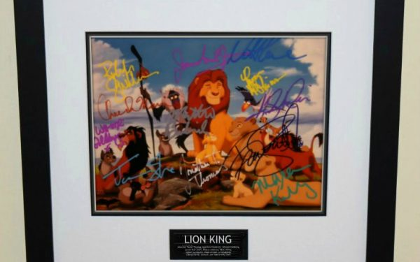 Lion King Signed 8×10 Photograph