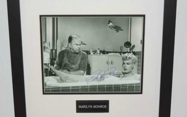 #3 Marilyn Monroe Signed 8×10 Photograph