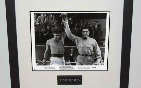 #18-Elvis Presley 8×10 Signed Photograph