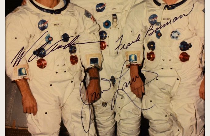 Apollo VIII Signed 8×10 Photograph