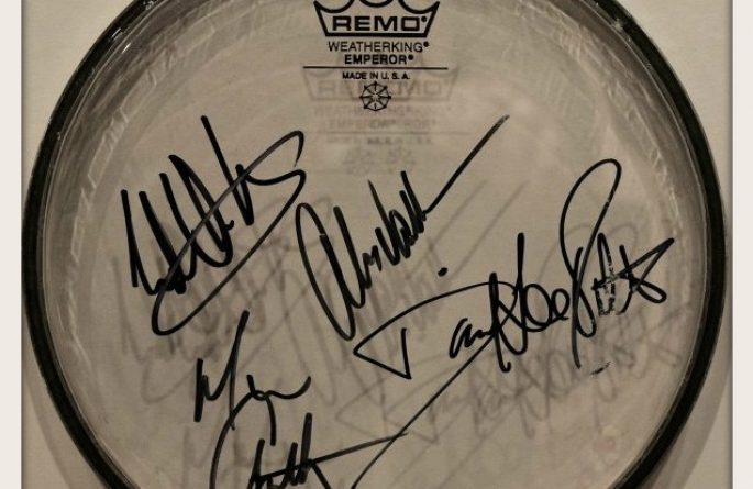 #3 Van Halen – Drum Head