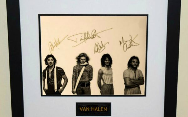 #12-Van Halen Signed 11×14 Photograph