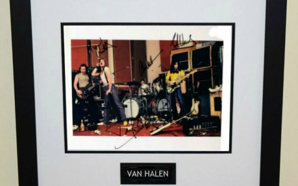 #11-Van Halen Signed 11×14 Photograph