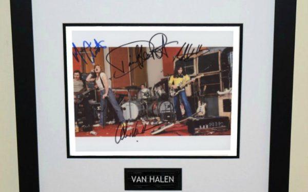 #11-Van Halen Signed 8×10 Photograph
