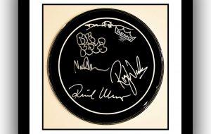 Pink Floyd – Remo Black Drum Head