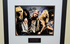 #1-Guns N' Roses Signed 8×10 Photograph