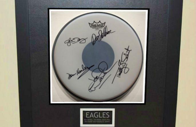 Eagles – Drum Head