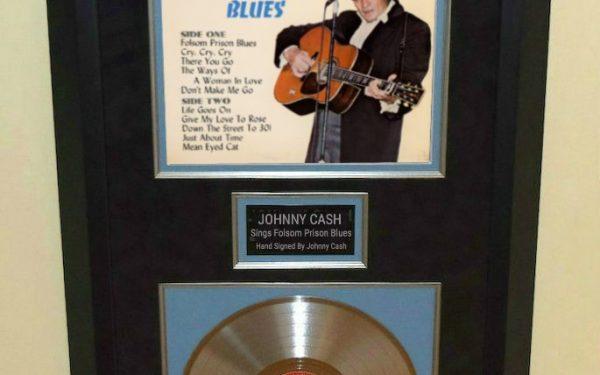 Johnny Cash – Sings Folsom Prison Blues