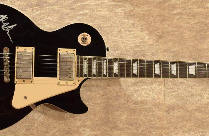 Rush – Epiphone Les Paul Standard Guitar